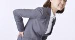 坐骨神経痛に苦しむ女性